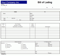 Bill Of Lading Template Excel 9 Bill Of Lading Templates Excel Templates