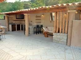 construire une cuisine d été cuisine d ete exterieure cuisine exterieure moderne construction