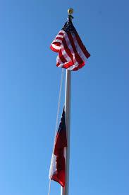 State Flag Georgia Paulding County Ga
