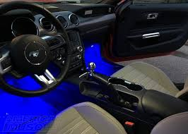Led Strip For Car Interior Interior Lighting Options For Your S550 Mustang Americanmuscle