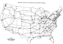 Map Of The United States Highways by File Interstate Highway Plan September 1955 Jpg Wikimedia Commons
