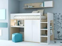 lit surélevé avec bureau lits mezzanine avec bureau les 25 meilleures idaces de la