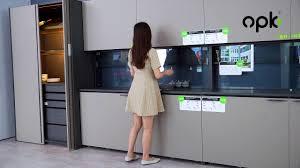 kitchen cabinet sliding doors kitchen cabinet sliding door solution opk