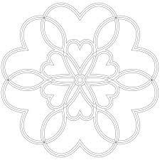 heart mandala coloring pages with loving lgpng mandala coloring