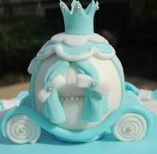 cinderella carriage cake topper fondant disney topper princess