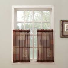 Kitchen Sheer Curtains by Buy Sheer Kitchen Curtains From Bed Bath U0026 Beyond