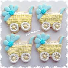 my little bakery baby shower cookies