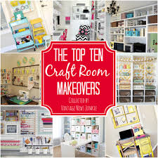 top ten craft room makeovers organization inspiration haammss