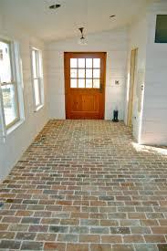 Mudroom Floor Ideas 85 Best Brick Floors Images On Pinterest Brick Flooring Home
