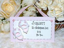 Baby Plaques 11 Best Baby Plaques Images On Pinterest Baby Keepsake Name