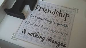 friendship quote photo frame handmade personalised friend friendship quote gift frame word