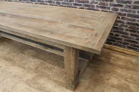 rustic oak dining table rustic oak table mobilien mallorca