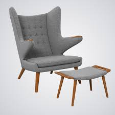 Armchair Ottoman Papa Bear Chair Ottoman