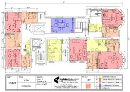 layout of floor plan office layout plan for private offices officelayout office