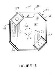 patent us20060278632 junction for ceiling fan support