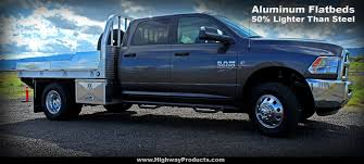 pickup truck aluminum flatbeds highway products inc