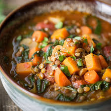 vegetable soup with lentils u0026 seasonal greens saving room for
