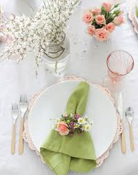 easter napkin rings 5 beautiful easter table setting ideas purewow