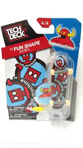 Tech Deck Blind Skateboards Tech Deck Skateboard Td Fun Shape Series Toy Machine 4 8