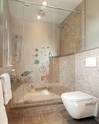 ideas for tiled bathrooms coastal bathroom tile ideas home gallery shower white wood