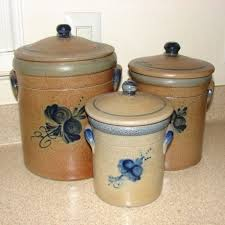 pottery kitchen canister sets 161 best kitchen canister sets images on kitchen