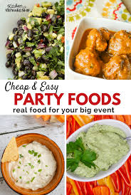 u0026 easy party foods made with healthy real food