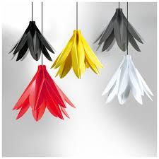 uk designed and made hanging flower light shades my green lighting