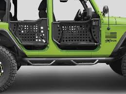 how to take doors a jeep wrangler side guards steps n fab nf j1246 n fab nerf steps for 07