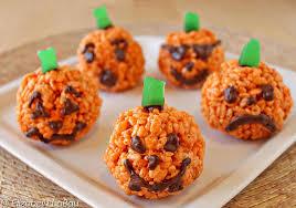 pumpkin rice crispy treats recipe