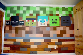 need a few minecraft ideas for your kid u0027s bedroom here u0027s what we did