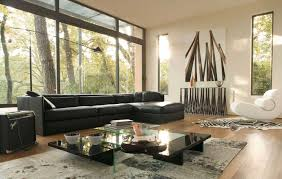 Decorate Large Living Room by Curtains For Large Living Room Windows Ideas Also Green Curtain