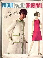 vintage british style vogue dressmaking patterns