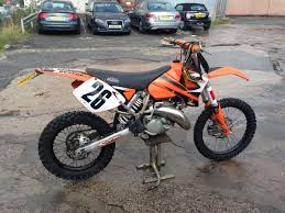 road legal motocross bikes 2003 ktm 125 sx 2 stroke orange road legal ride on cbt crosser