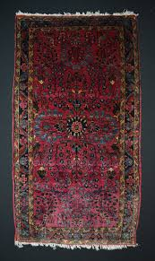 Antique Area Rug Antique Rug Sarouk Mahajiran With Floral Pattern