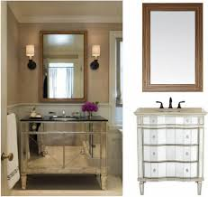 bathroom vanities amazing wood framed bathroom mirrors large