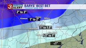 Flightaware Misery Map Update Up To 2 Inches Of Snow Possible In Parts Of The Tennesse