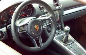 porsche inside car review 2017 porsche 718 cayman driving