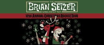live benaroya the brian setzer orchestra 12th annual
