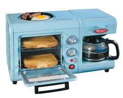 Toaster Machine A 6 Liter Mini Toaster Oven A Griddle And A 4 Cup Coffee Maker