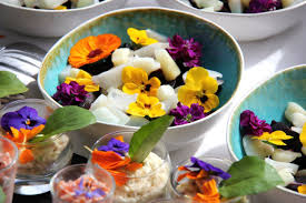 les fleurs comestibles en cuisine fleurs comestibles bakker com