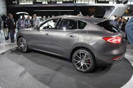 maserati levante blacked out maserati levante arrived in the us business insider