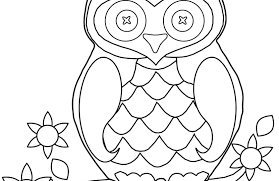 Owl Coloring Page Best Pictures Download Free Printable Pages Owl Color Pages