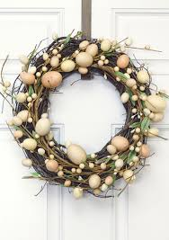 17 diy easter wreath ideas how to make a easter door wreath