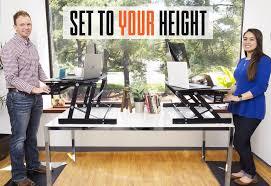 Sit Stand Office Desk by Flexpro Plus 31