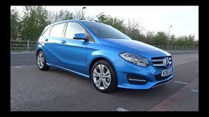2016 mercedes benz b 200 d sport executive start up and full