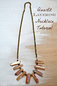 make crystal necklace images How to make a crystal layering necklace candie cooper jpg