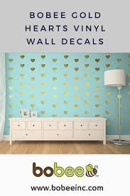 Wall Decals For Girls Bedroom Gold Heart Vinyl Wall Decals These Are Adorable For A Little
