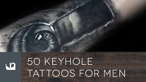 50 keyhole tattoos for men youtube