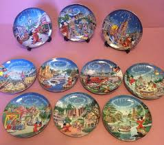 25th anniversary plates sale disney mickey mouse 25th anniversary commemorative plates set