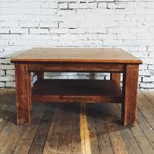 vintage wood coffee table vintage furniture city home